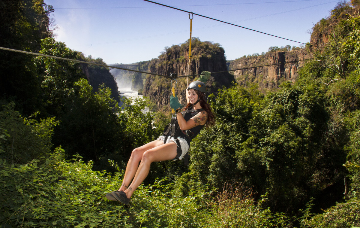 The Vic Falls Canopy Tour Batonka Guest Lodge